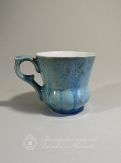 "A cup of coffee service ""Turquoise"""