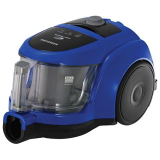 SAMSUNG vacuum cleaner VCC4520S36/XEV, container, 1600 W suction power 350 W, blue