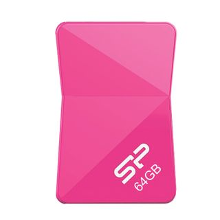 SILICON POWER / Flash Drive 64 GB Touch T08 USB 2.0, pink