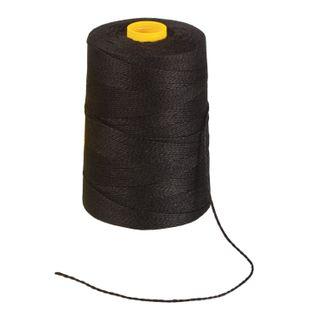 BRAUBERG / Lavsan thread for sewing documents, BLACK, diameter 1.5 mm, length 500 m, LSh 460h