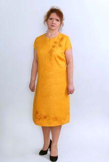 Dress womens linen 9-263