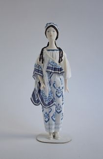 Elena's costume for the ballet 'Helen of Sparta', Bakst. Doll gift