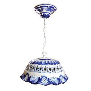 Lamp hanging Romance, Gzhel Porcelain factory