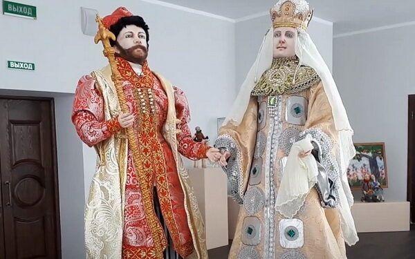 Виртуальная кукольная выставка брянской мастерицы Аллы Кравченко