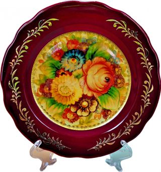 Dulevo porcelain / Decorative plate