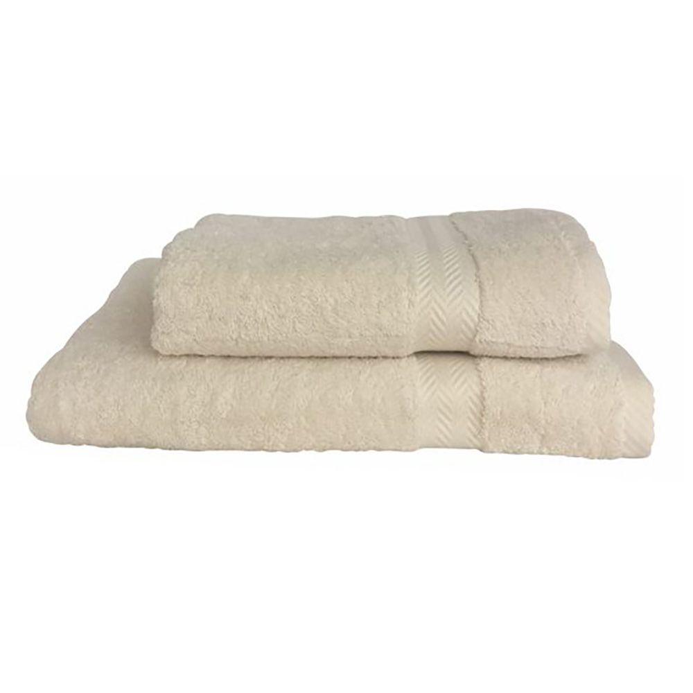 "Towel ""Luxury"" beige Textil"