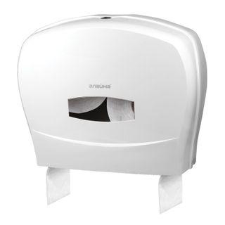 LIMA / Toilet paper dispenser PROFESSIONAL (T1 / T2 system), large, white, ABS plastic
