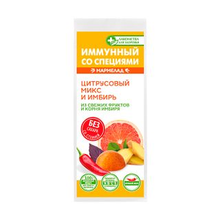 Marmalade without sugar immune