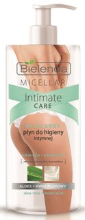 Micellar remedy for intimate hygiene, BIELENDA Aloe+Lactic acid, 300 ml