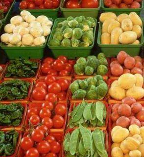 Verduras al por mayor