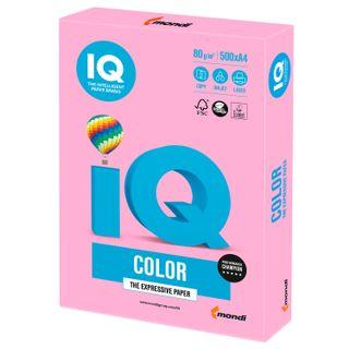 IQ COLOR / A4 paper, 80 g / m2, 500 sheets, neon, pink