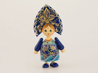 Doll Russian average - Souvenir