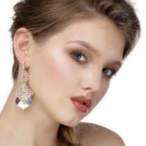 Lace earrings 'Lyubava'