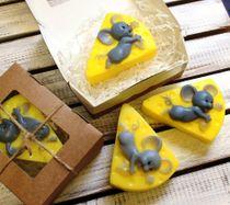 Handmade soap Cheese