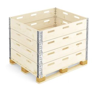 Container wooden folding