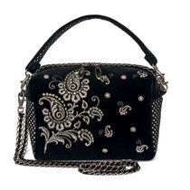 Velvet bag 'Adele'