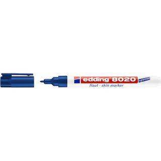 Edding / Leather Marker, Round Tip, 1mm Blue