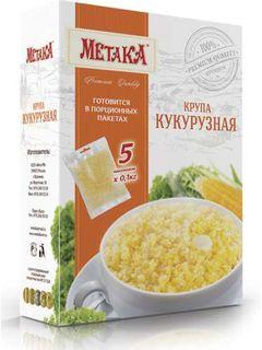 Cornmeal - Metaka Premium series cereals in cooking bags