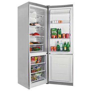 INDESIT DFE4200S fridge, 324 litres total, 75 litre lower freezer, 60 x64 x 200cm, silver
