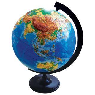 GLOBE WORLD / Physical globe, diameter 320 mm, relief