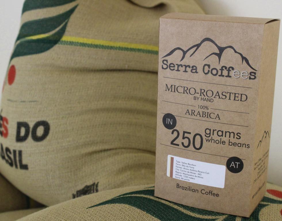 Brazilian special roast coffee