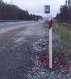 Signal posts, road signs from fiberglass