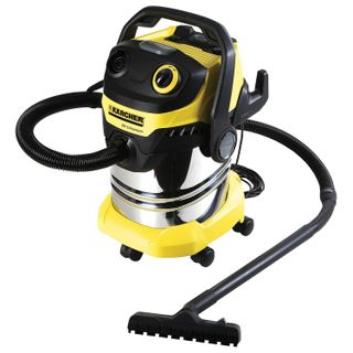 Vacuum cleaner KARCHER WD 5 Premium, with dust bag, power 1100 W, blow moulding, container stainless steel