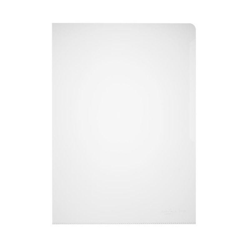 Durable / Folder-corner for documents, 100 microns, A4, matte, polypropylene Transparent
