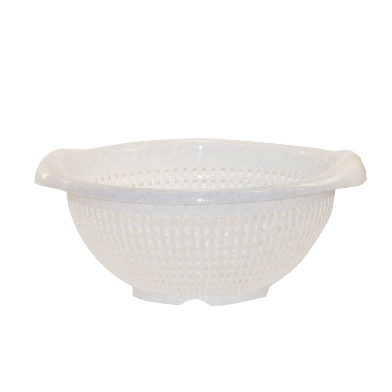 IDEA / Colander basket round, diameter 29 cm, marble color