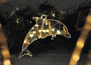 Christmas toy mirror