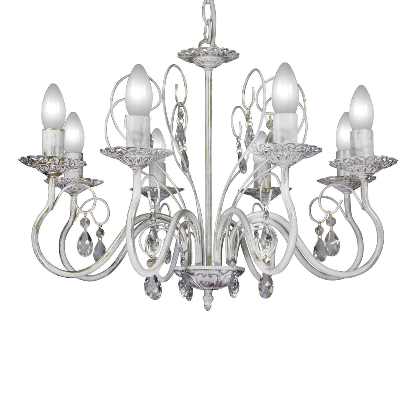PETRASVET / Pendant chandelier S1163-8, 8xE14 max. 60W