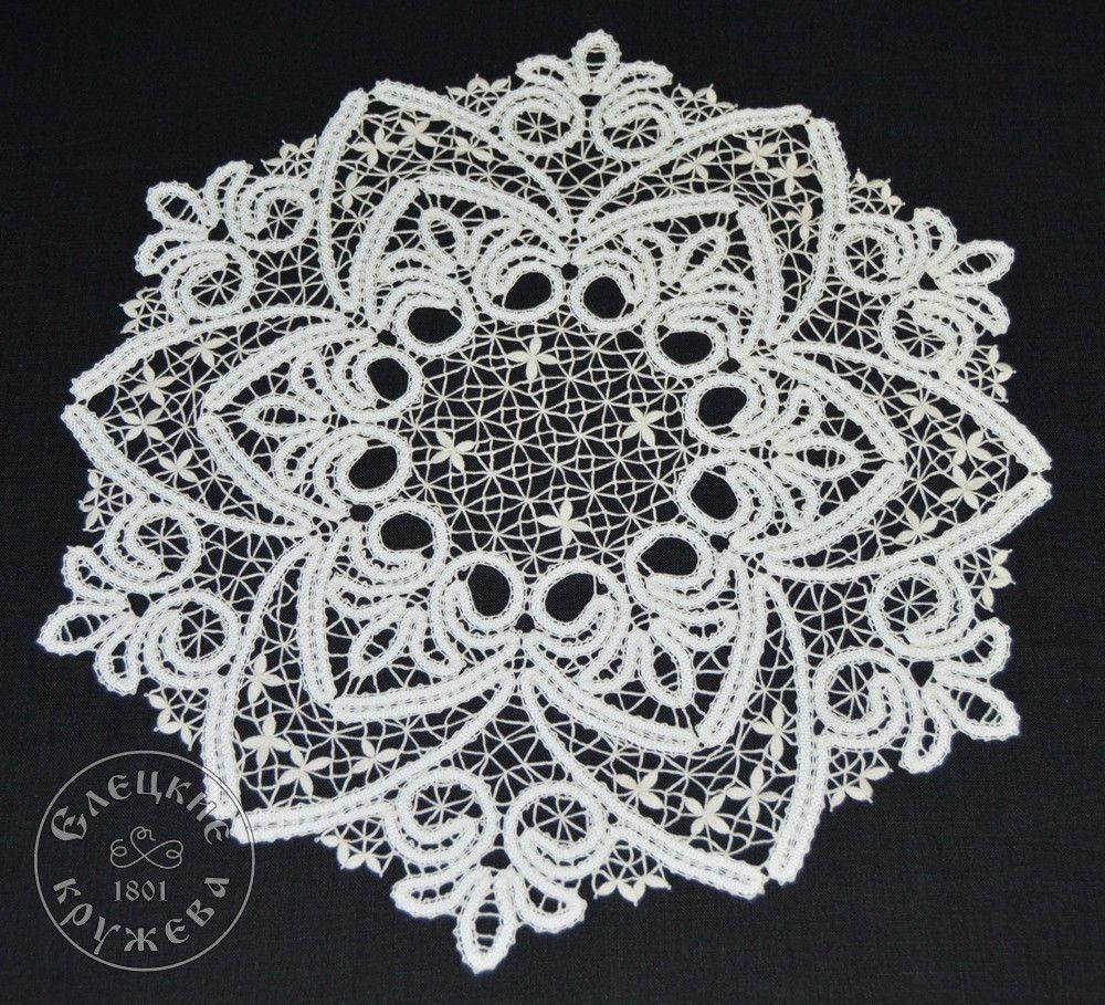 Yelets lace / Lace napkin С681