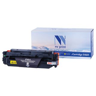 Laser cartridge NV PRINT (NV-046HY) for CANON LBP653Cdw / 654Cx / MF732Cdw, yellow, yield 5000 pages