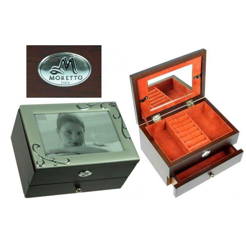 "The ""Photo Frame for Jewelry"" packaging is 2-tiered capacity 200g."