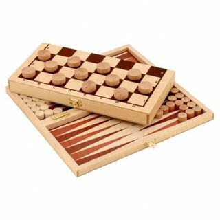 Set Board games Checkers+backgammon Pelsi