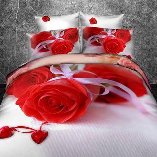 Satin bed linen 3D puzzle