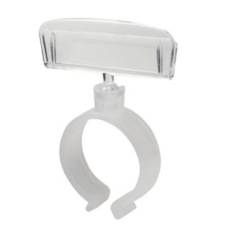 The price stripes on the sausage RING CLIP set 10 PCs., width 50 mm, diameter of 20-30 mm