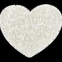 Bas-relief for creativity - Heart