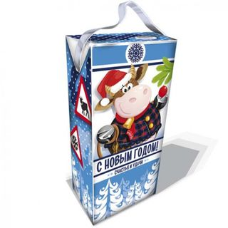 The milkman's packaging has a capacity of 600g.