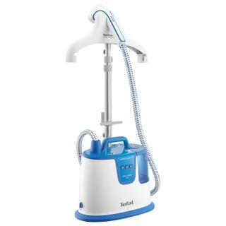 Steamer TEFAL IS8340E1, 1700 W steam 35 g/min tank 1.7 l, 1 mode, 2 nozzles, white/blue