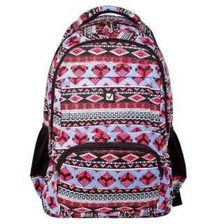 Backpack BRAUBERG for seniors/students/youth, patterns, Shapes, 27 liters, 47х32х14 cm