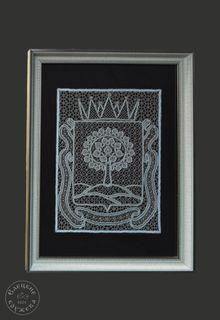 Panels lace decorative