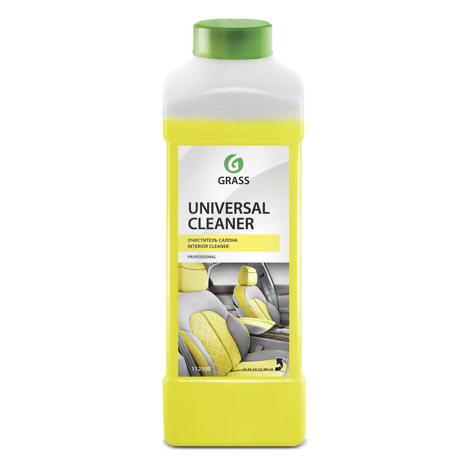 Tool for cleaning the interior GRASS 1 l UNIVERSAL CLEANER for fabric, plastic, alkaline