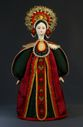 Doll gift porcelain. Center. Russia. Russian costume. 18-19 century. - view 1