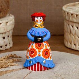 Dymkovo clay toys elegant Lady