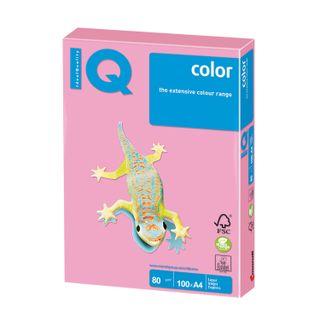 IQ COLOR / A4 paper, 80 g / m2, 100 sheets, pastel, pink flamingo