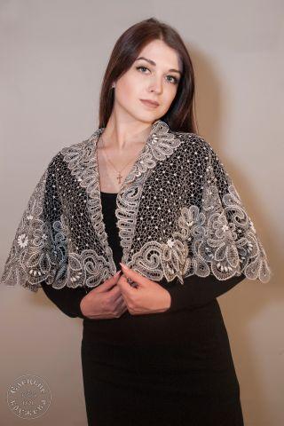 Pelerine women's lace С638