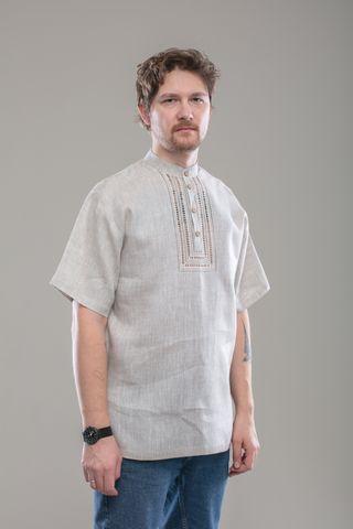 Shirt men's short sleeve