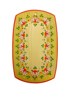 "Wooden kitchen board ""Onega painting"""