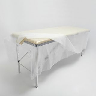 CLEANING / Non-sterile disposable sheets, SET 25 pcs., 200x200 cm, polyethylene 25 microns